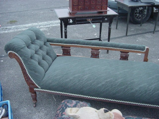 Antique chaise longue for sale in uk view 98 bargains for Chaise longues for sale uk