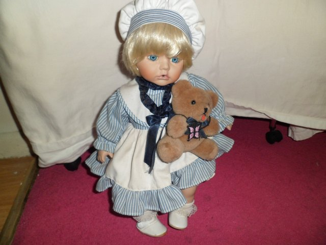 Dolls House Collection Porcelain Doll For Sale In West