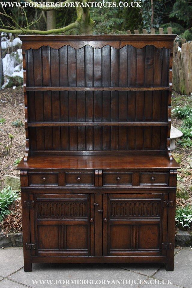 titchmarsh goodwin oak dresser base sideboard cupboard. Black Bedroom Furniture Sets. Home Design Ideas