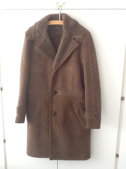 sheepskin coat mens - Second Hand Men's Clothes, Buy and Sell in ...