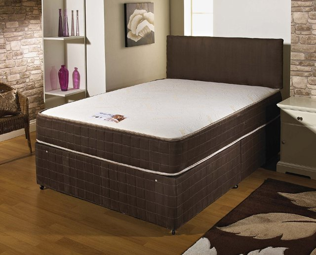 Small double divan bed with mattress for sale in uk for Divans for sale
