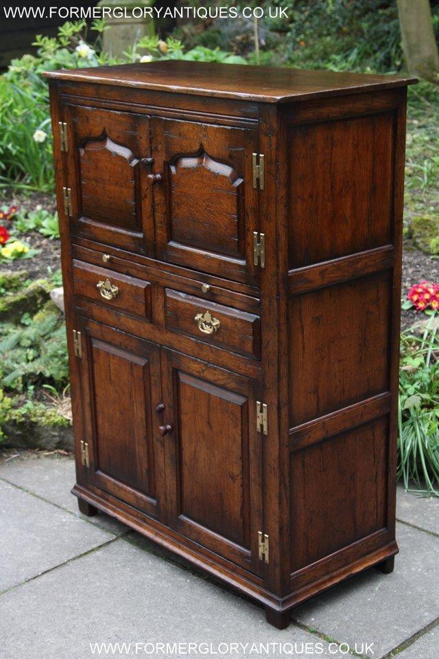 titchmarsh goodwin oak wine drinks cabinet cupboard. Black Bedroom Furniture Sets. Home Design Ideas
