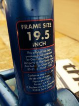 Giant Boulder Retro Mountain Bike Frame And Forks - £20