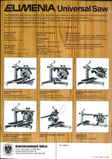 Eumenia radial arm saw
