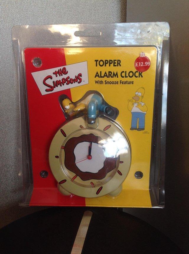 Simpsons Clock For Sale In Uk 43 Used Simpsons Clocks