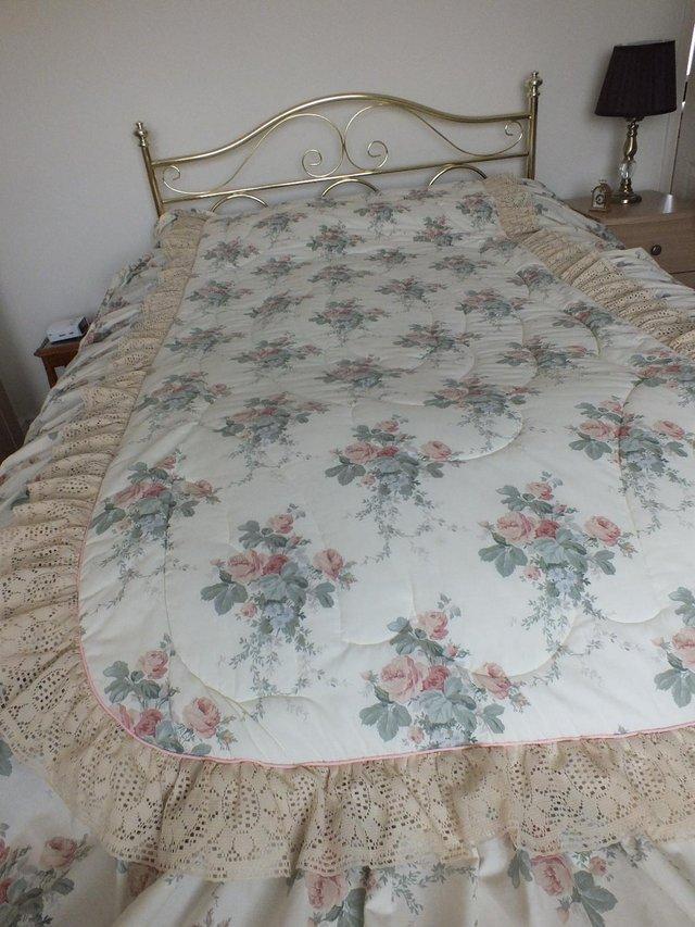 Dorma Blue Toile Duvet Cover Dorma Toile Blue Cuffed