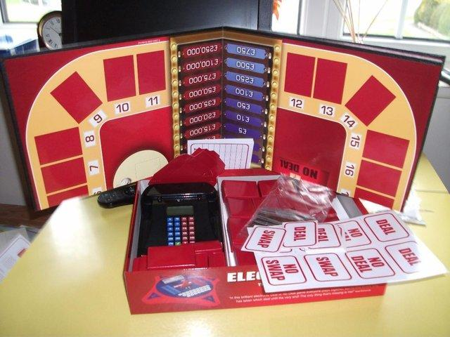 deal or no deal board game instructions