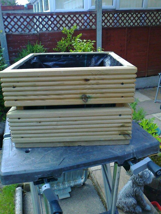 wonderful garden furniture made from decking to inspiration