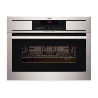 Built in combination microwave grill and fan oven