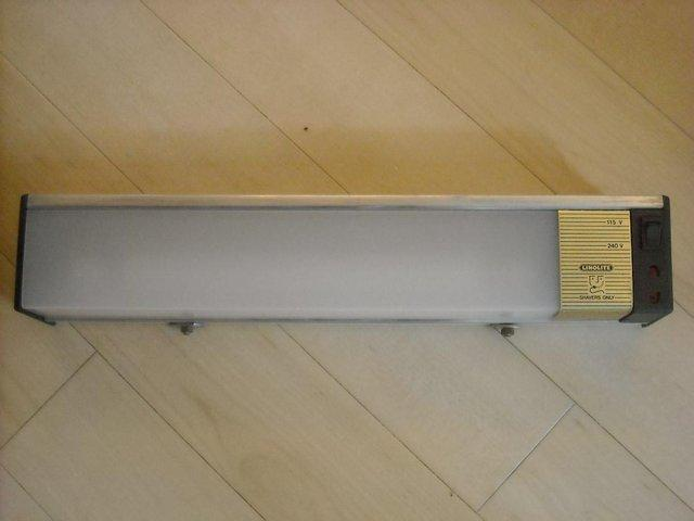 Bathroom Shaver Lights B&Q bathroom lighting fitting - second hand lighting, buy and sell in