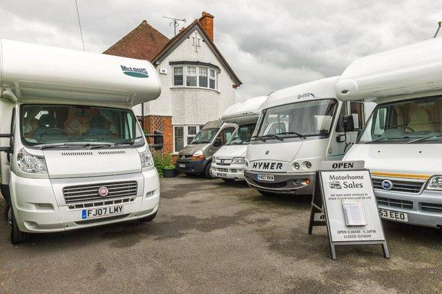 Small Motorhomes Sale Used Camper Vans Buy And Sell In The UK - Small motor homes