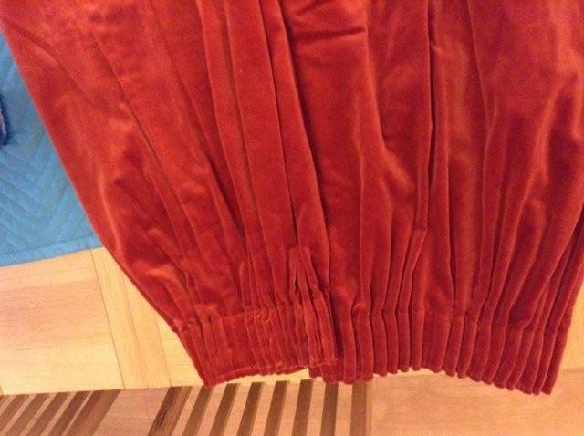 velvet curtains - Second Hand Curtains and Blinds, Buy and Sell in ...