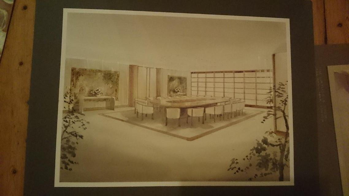 Vintage original architectural drawings paintings by for Architectural drawings for sale