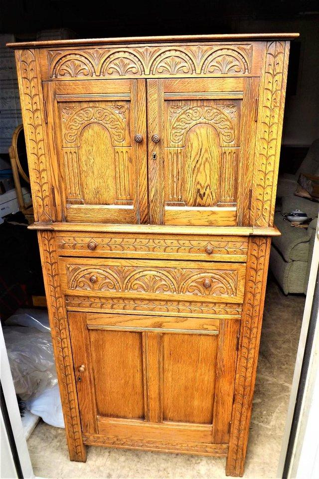 Drinks cabinet antique collectors and period furniture for Chinese furniture christchurch