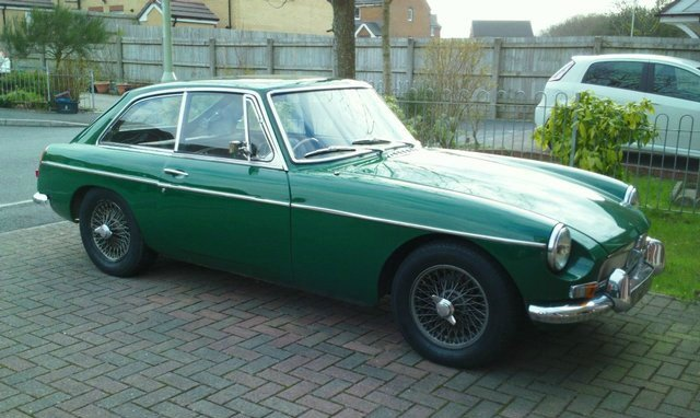 Classic Coupe MGB 1968 Green