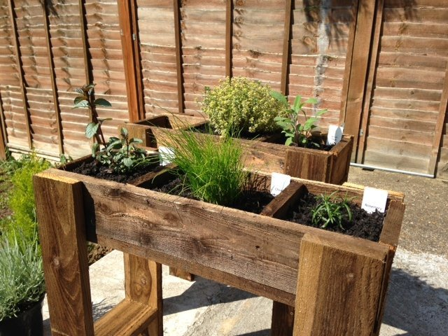 Second hand garden planter from Preloved