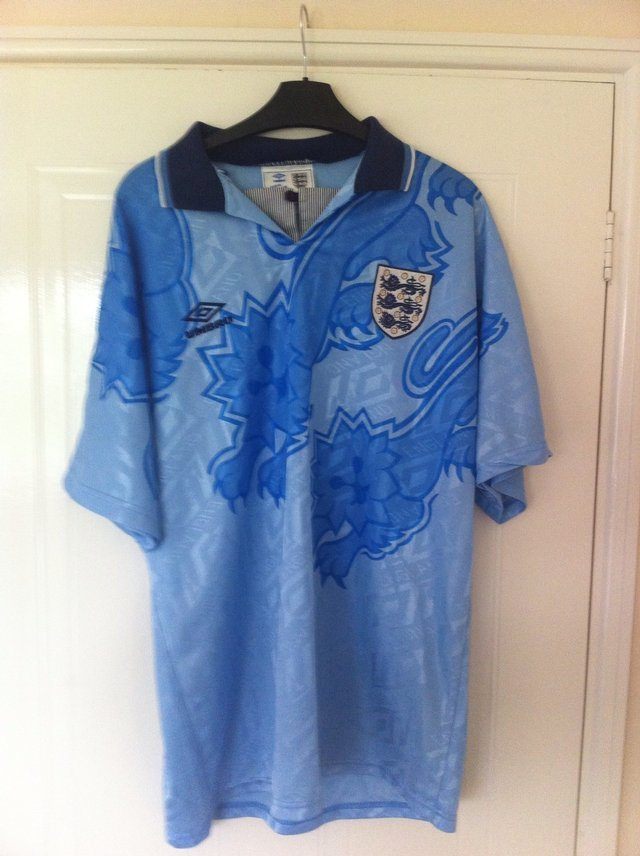 England 3rd shirt 1992