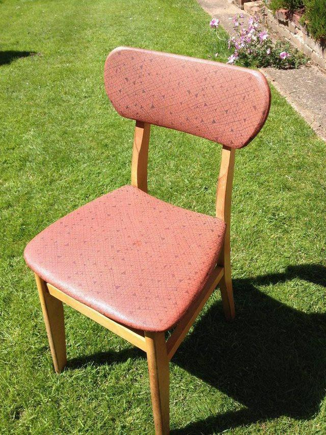 Free vintage chair from Preloved