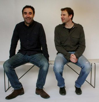 Andrew Whittaker and Richard Ginger of Salvation Furniture