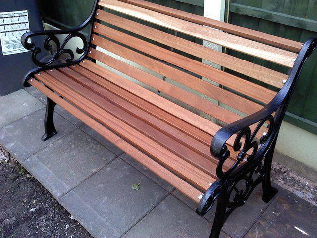 Garden bench from Preloved