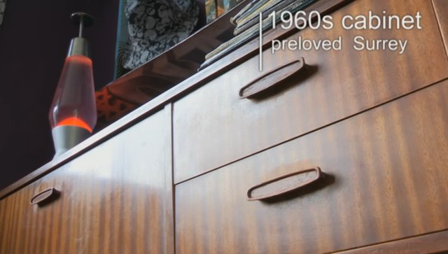 1960s cabinet from Preloved. Kirstie Allsopp   Fill Your House for Free