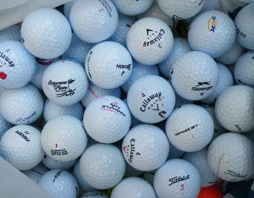 Second Hand Golf Balls from Preloved