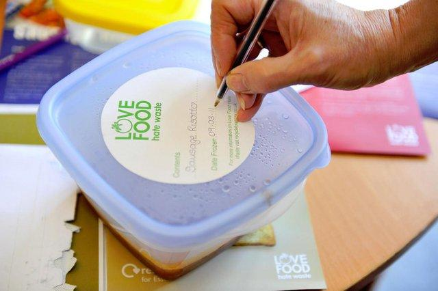 labelling your food with a use by date