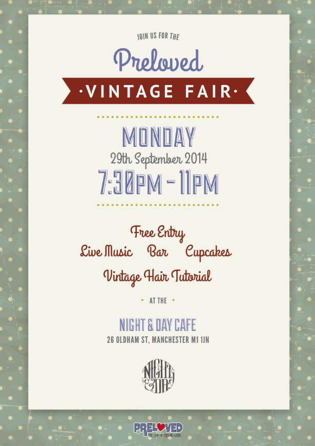 Preloved vintage fair poster