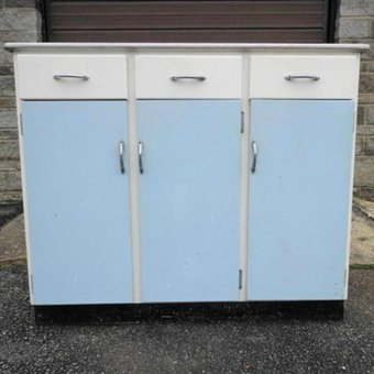 blue kitchen unit for sale in somerset