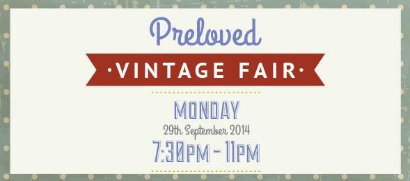 preloved vintage fair banner