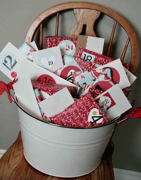 Christmas bucket