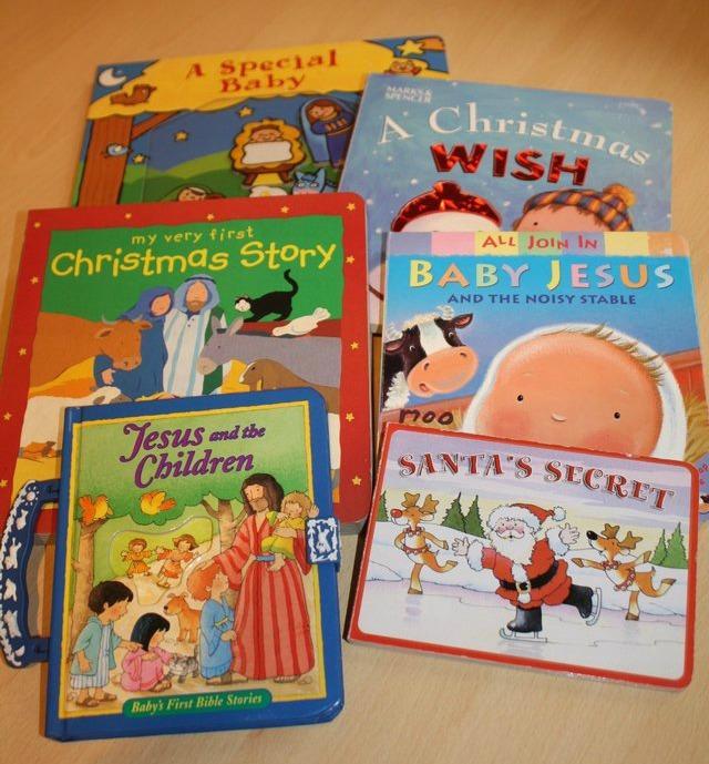 second hand christmas books