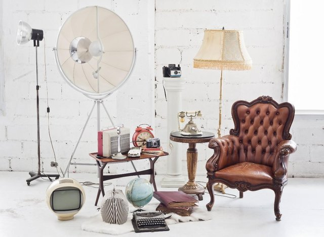 collection of second hand items