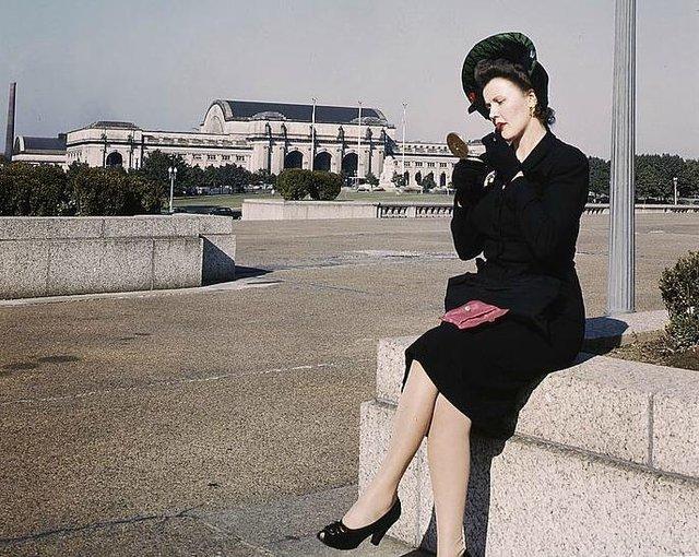 1940's womens fashion