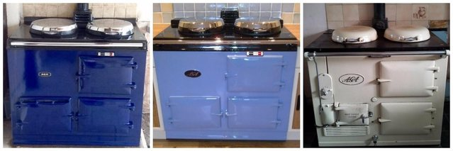 second hand aga country kitchen