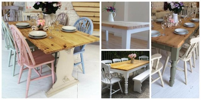 country kitchen tables budget