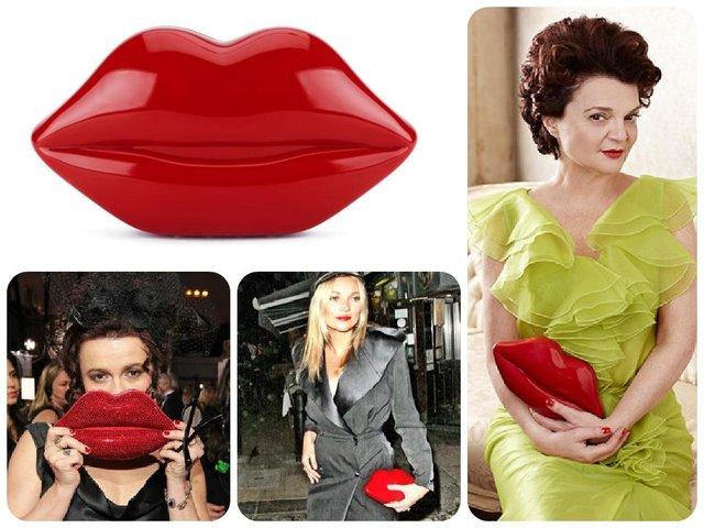 Lulu lips, pinterest and MyBag