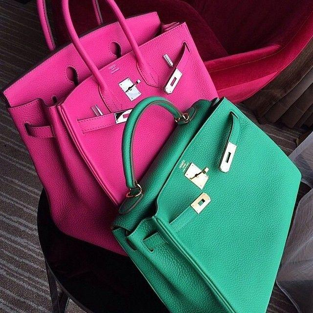 Birkin bags. sourced from pinterest