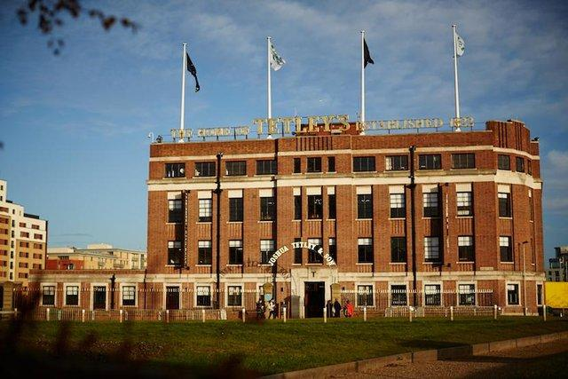 The tetley, found on Google images