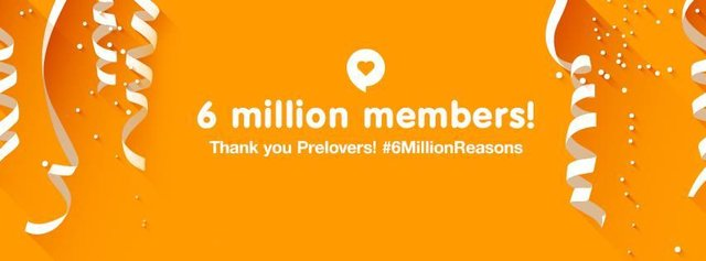 Preloved 6 million