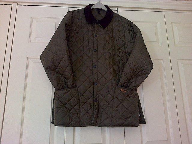 Olive Green Barbour Jacket