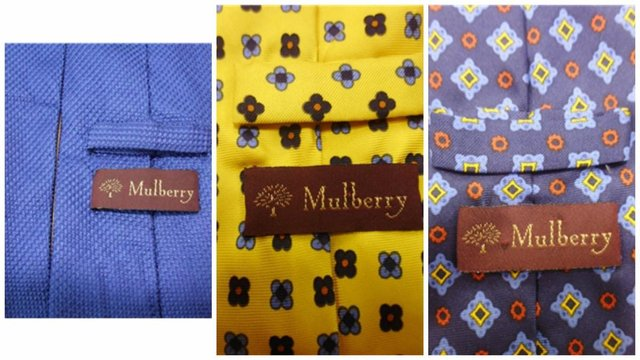 mulberry ties