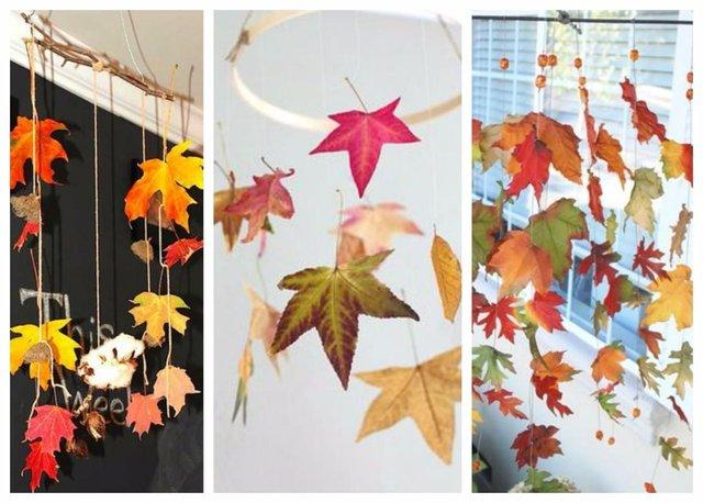 leaf mobiles