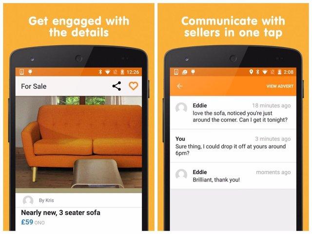 buyer android app screenshots