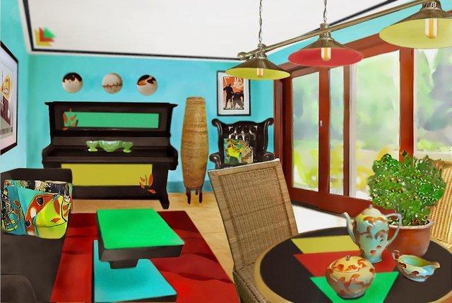 Eco Chic Upcycled Lounge