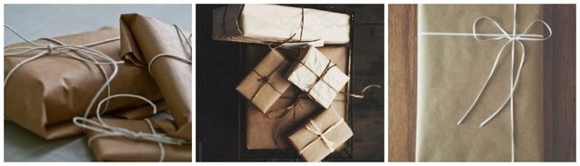Brown paper Parcels
