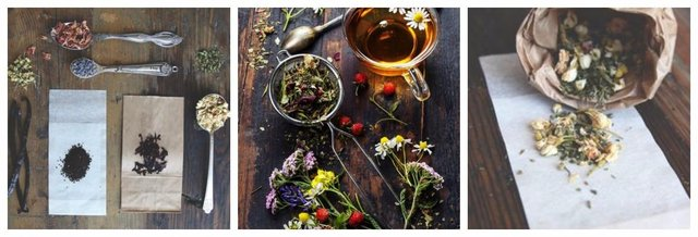 DIY Tea mixes