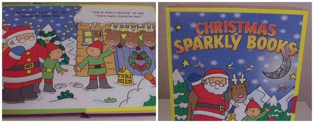 Sparkly Christmas Books