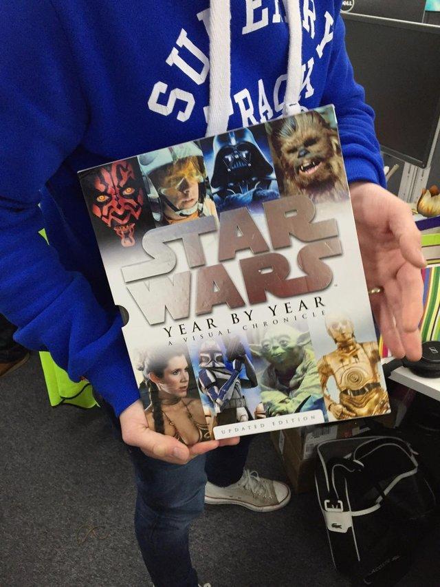 Dan and star wars