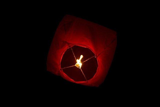 Chinese lantern frame